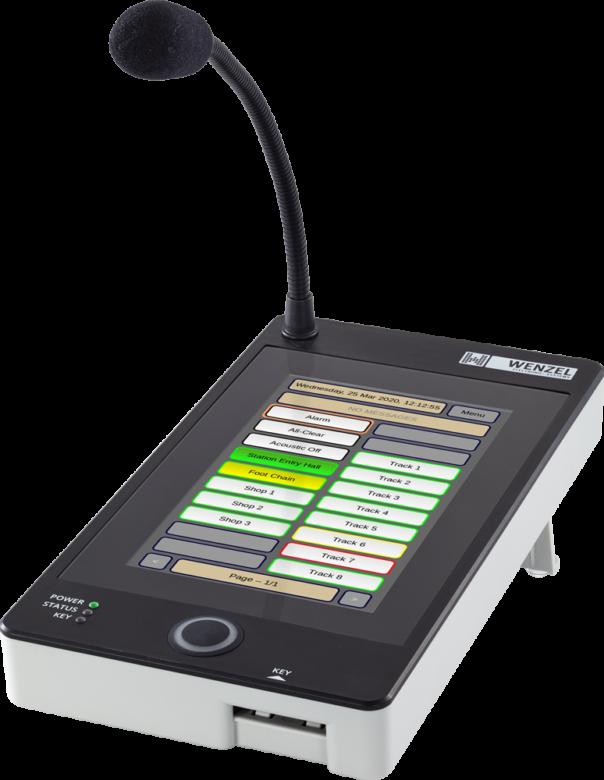 VoIP Sprechstelle mit Touch Display CE-STTP-IP/WM-STTP-IP