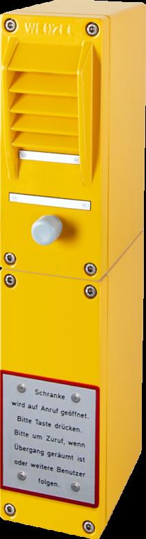 SWL Wechselsprechanlage für Bahnschranken